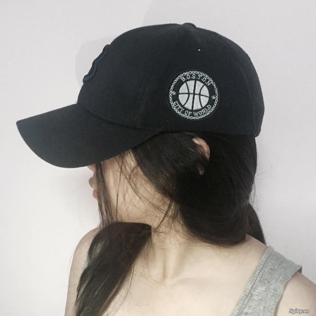 Nón bóng chày, nón bo đầu, made in koreaaa - 26