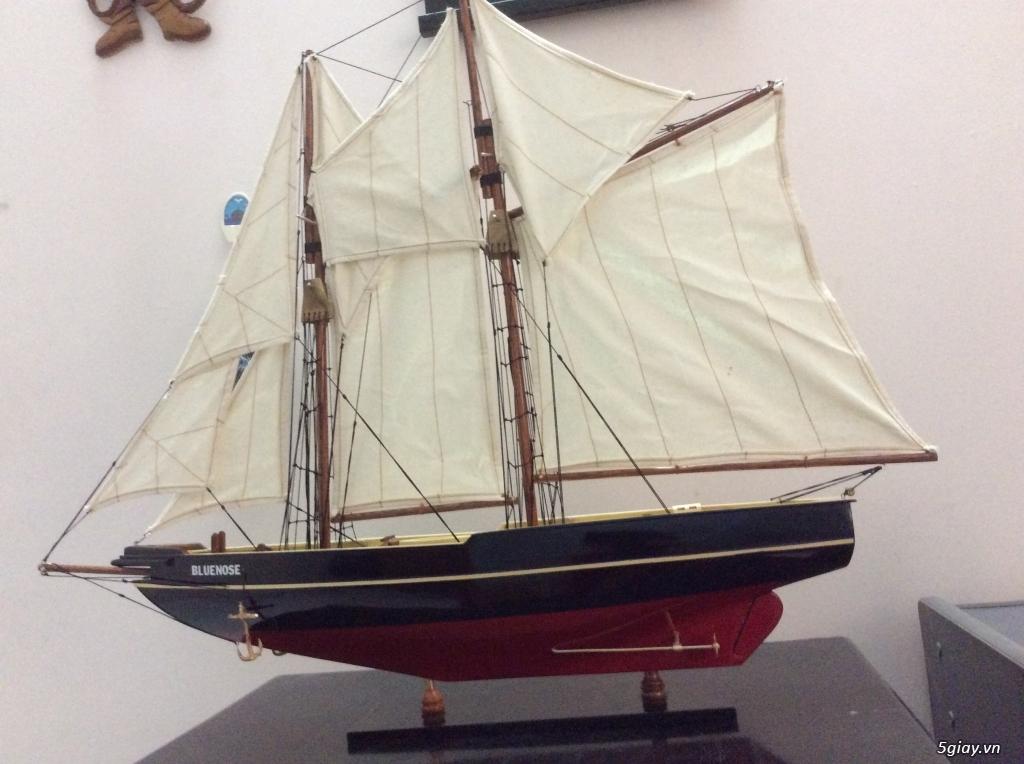 Thuyền buồm mô hình bằng gỗ : 1tr8 - 1
