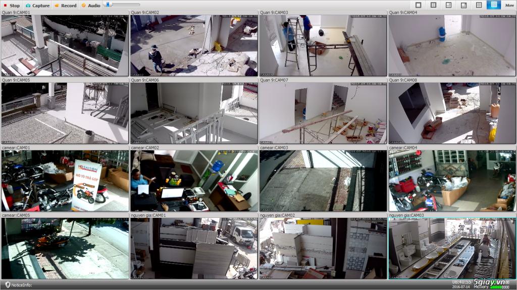 Sửa chữa lắp đặt mạng & Camera giám sát các loại