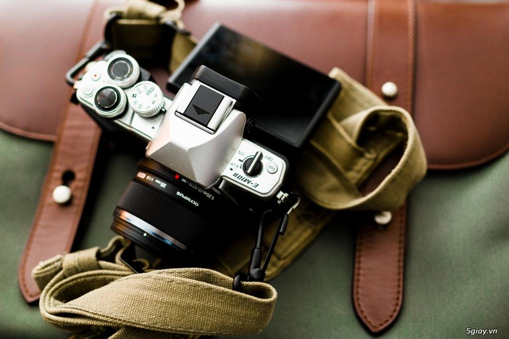 Máy ảnh Mirrorless Olympus OM-DE M10 xách tay Mỹ mới 99,99% - 2