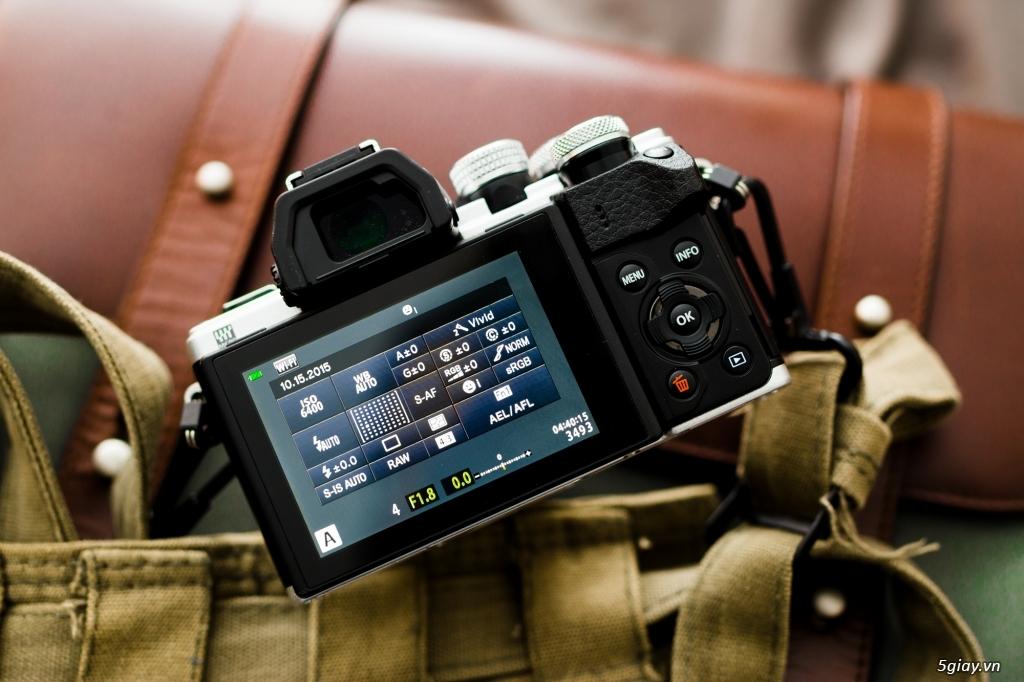 Máy ảnh Mirrorless Olympus OM-DE M10 xách tay Mỹ mới 99,99% - 3