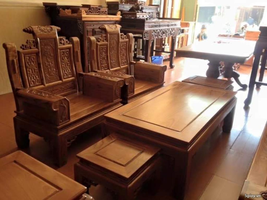 Bàn ghế gỗ Âu Á tuyệt đẹp