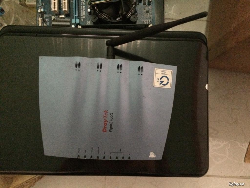 Router wifi draytek vigor 2700G 200k