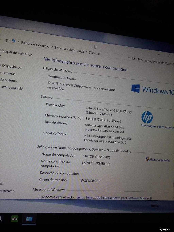BÁN HP ENVY 13 - CORE I7 - 8GB RAM - SSD 512GB - QHD (3200X1800); HP palivion 15; HP X2