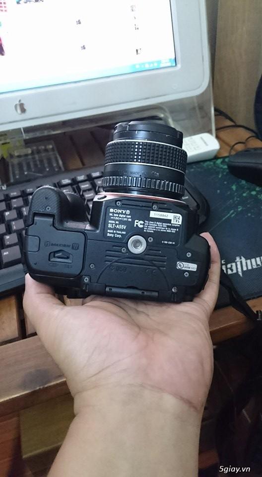 Máy ảnh sony A55 và lens kit 18-70 - 2