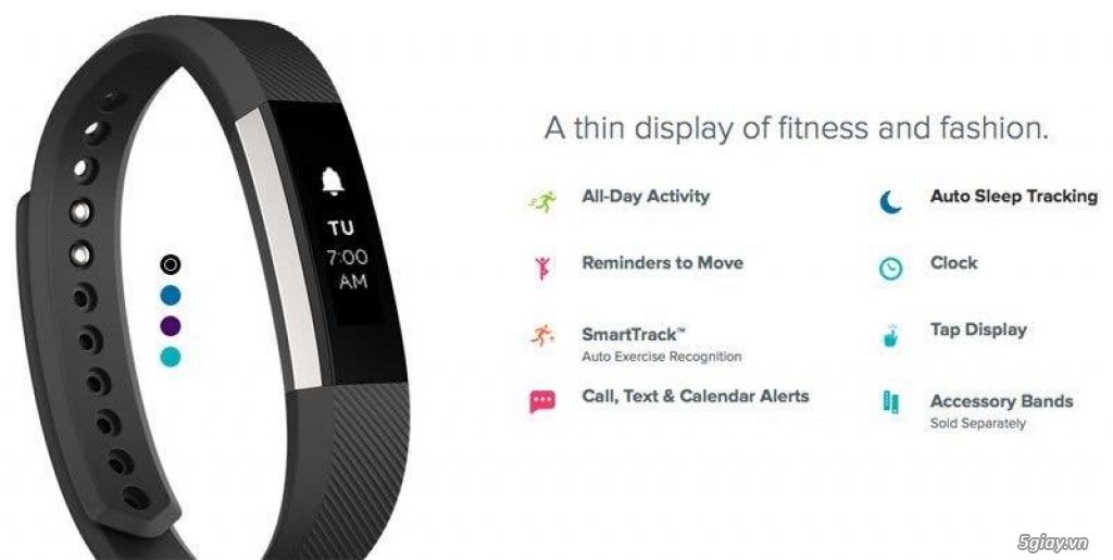 Fitbit Alta hàng trưng bày giá tốt....Mại Zô.ooooooo
