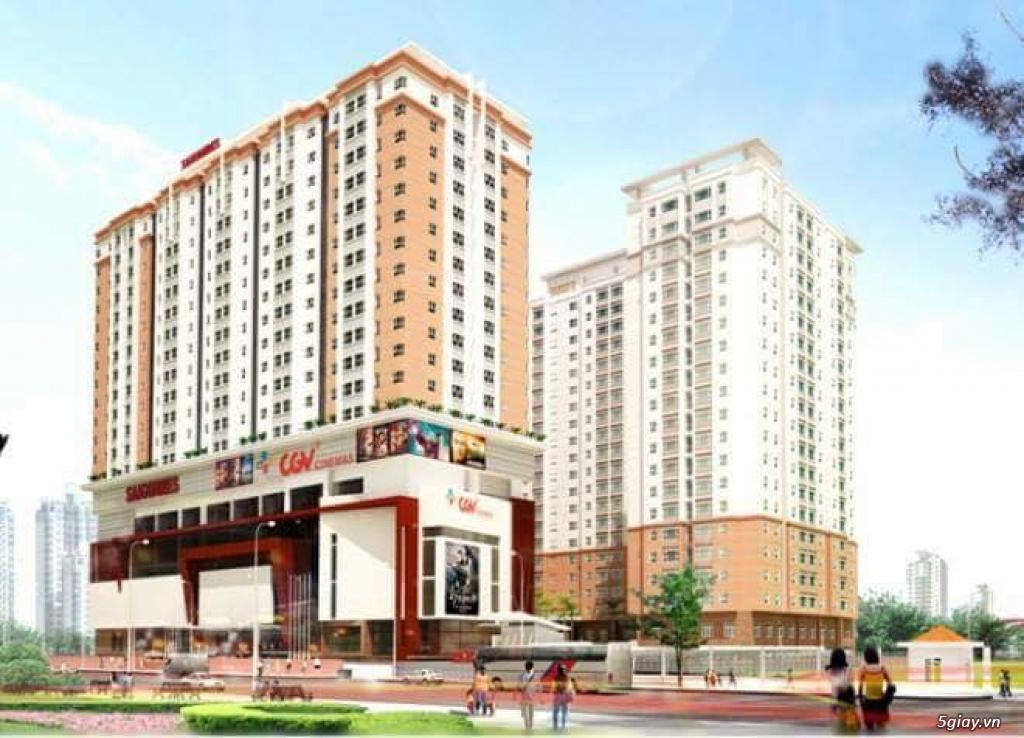 Bán gấp căn hộ chung cư 2 phòng ngủ, thuộc dự án Saigonres Plaza - 3