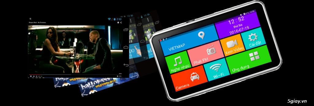 Trang trí ô tô tại nhà. Lắp đặt thiết bị dẫn đường, camera hành trình chính hãng VietMap giá tốt - 4