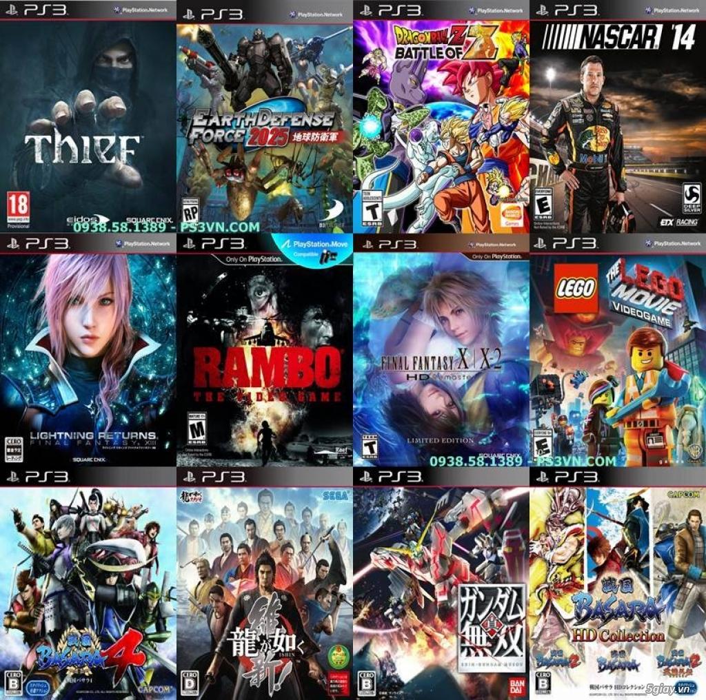Chép Game PS3 tại nhà giá rẻ nhất TPHCM - PS3VN.COM - 18