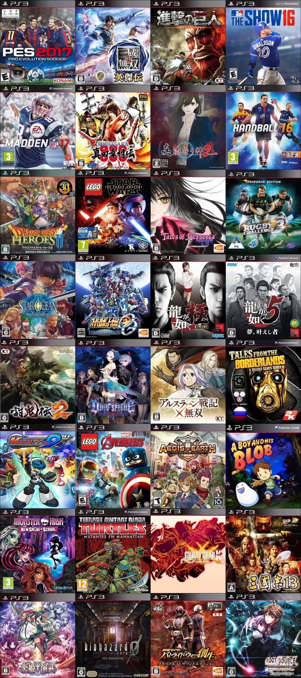 Chép Game PS3 tại nhà giá rẻ nhất TPHCM - PS3VN.COM - 13
