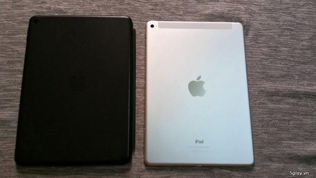 Ipad air 2 Silver 4G 128GB mới 99% - 1