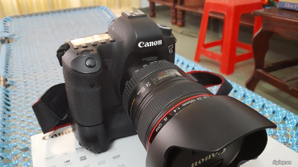 Canon 6d + 24 -105 f4 + grip pixel