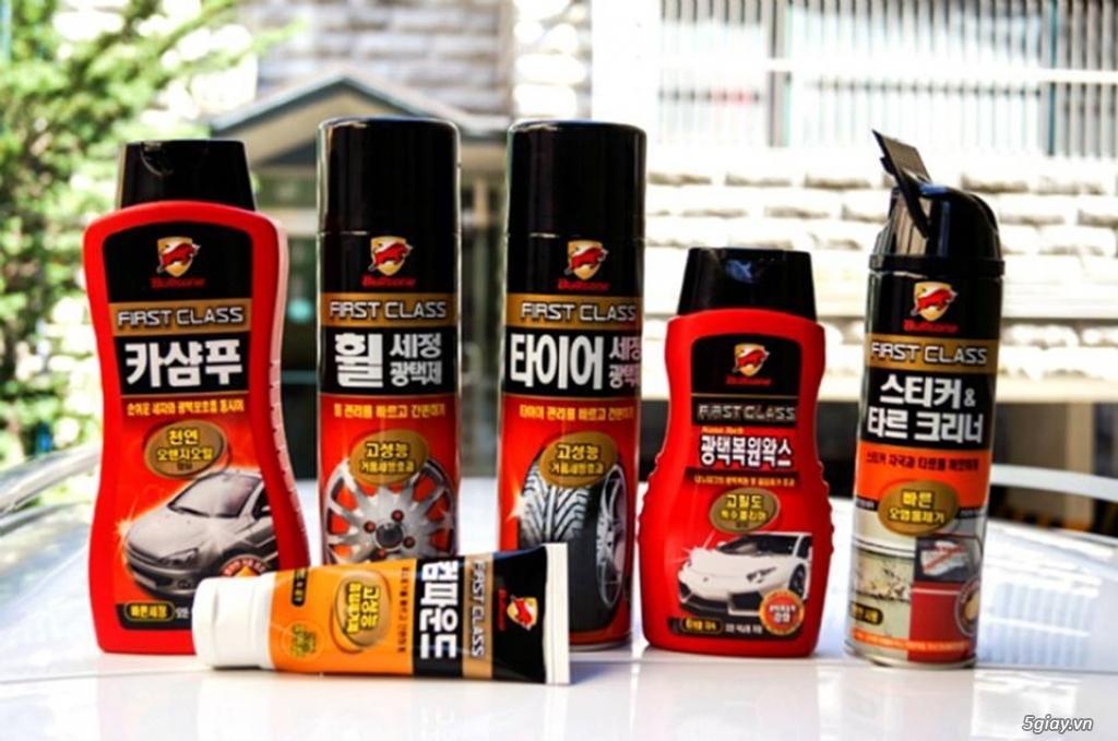Bullsone Car - Bộ sản phẩm chăm sóc xe hơi tại nhà