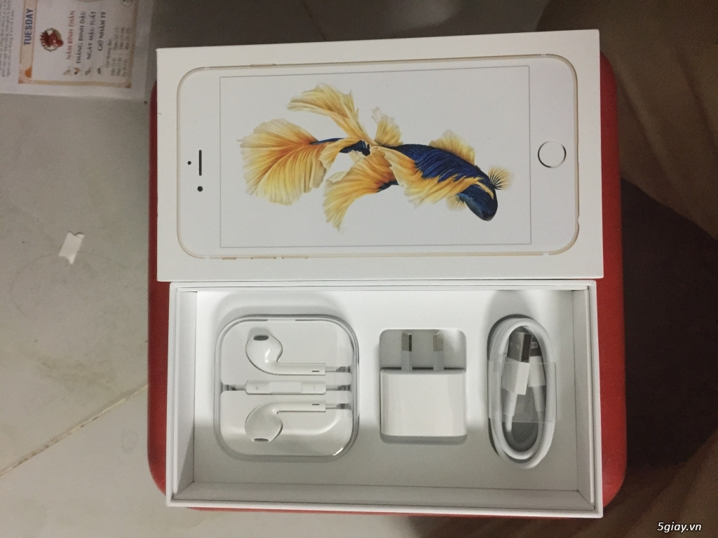 Bán iphone 6S Plus 128GB Gold - 4