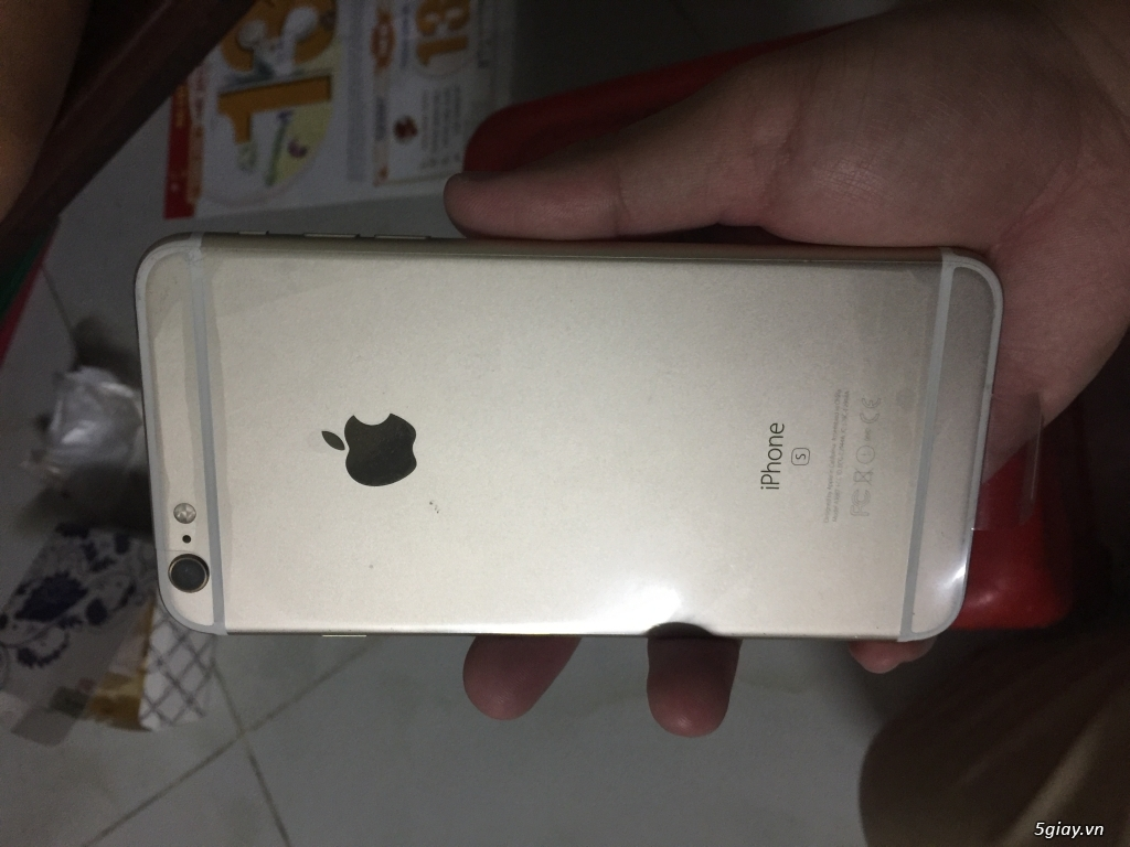 Bán iphone 6S Plus 128GB Gold - 1