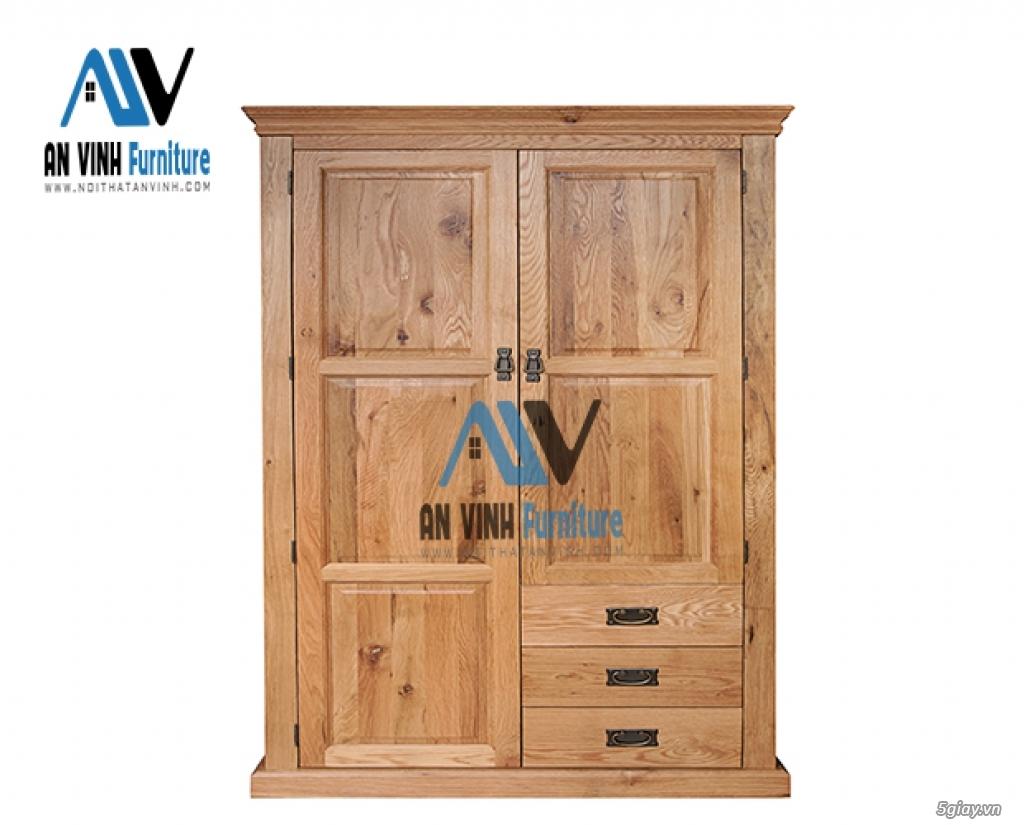 Thanh lý nội thất gỗ Sồi xuất khẩu - sồi Mỹ - 2