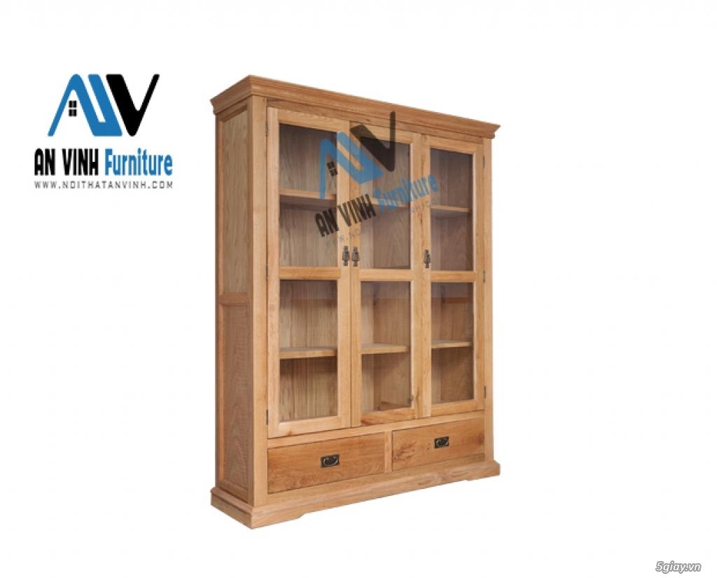 Thanh lý nội thất gỗ Sồi xuất khẩu - sồi Mỹ - 1