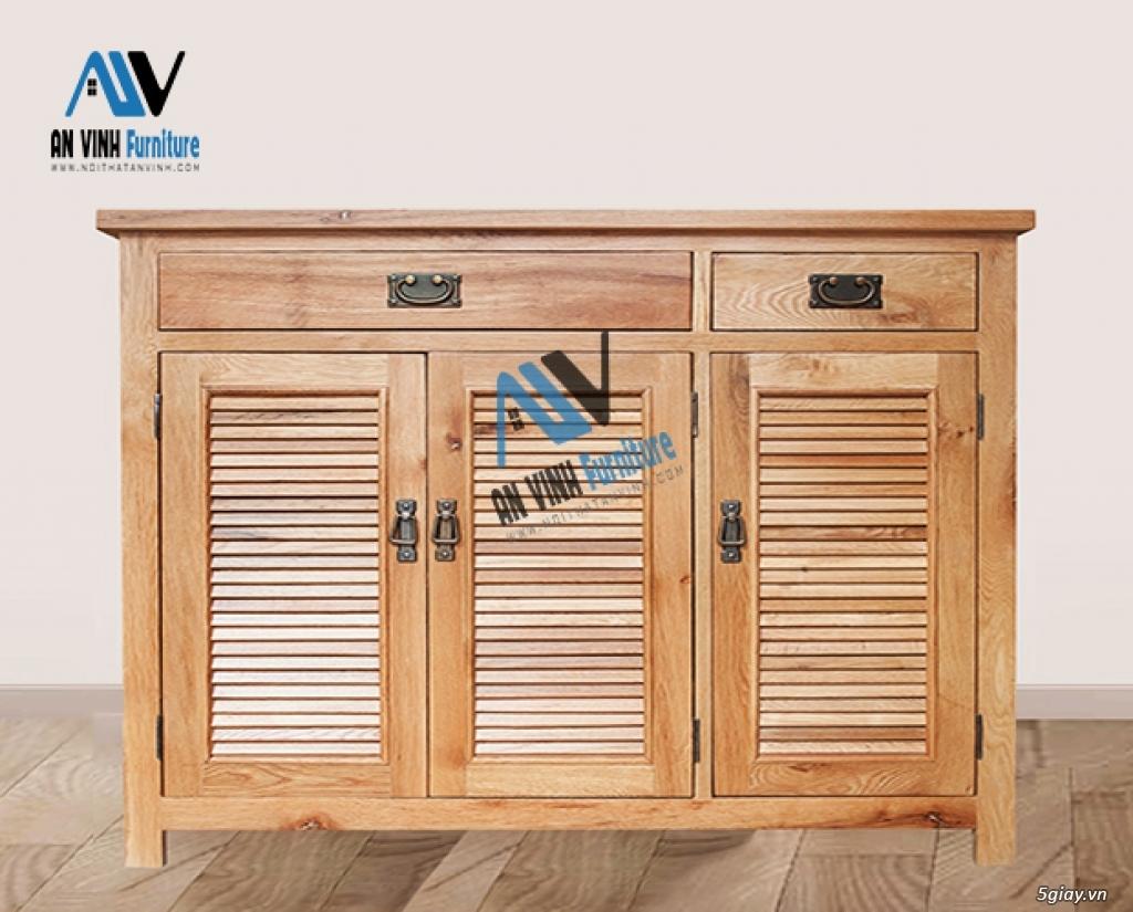 Thanh lý nội thất gỗ Sồi xuất khẩu - sồi Mỹ - 9