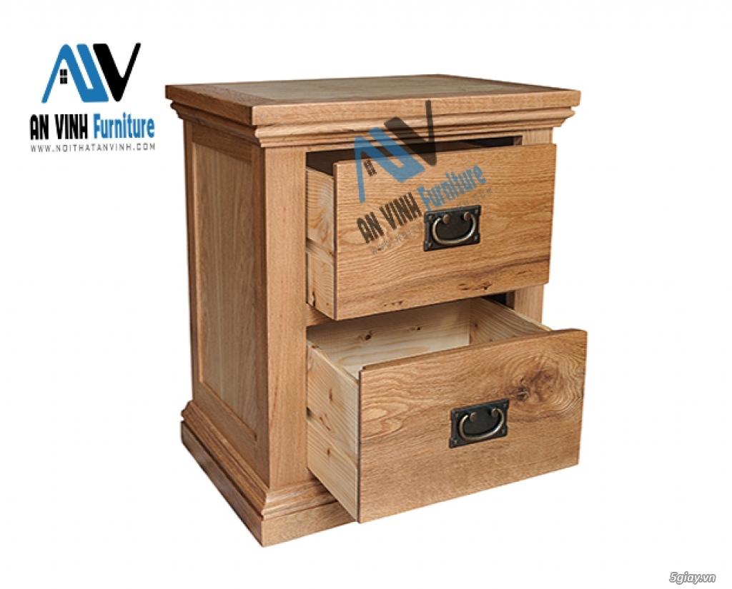 Thanh lý nội thất gỗ Sồi xuất khẩu - sồi Mỹ - 4