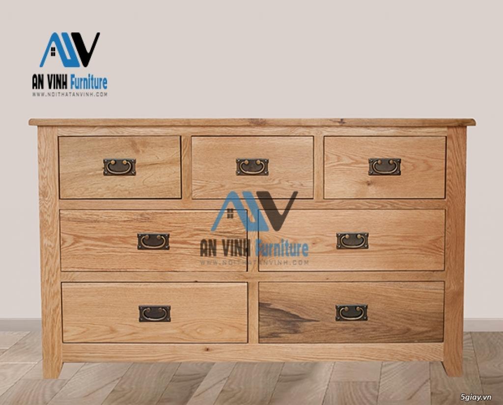 Thanh lý nội thất gỗ Sồi xuất khẩu - sồi Mỹ - 3