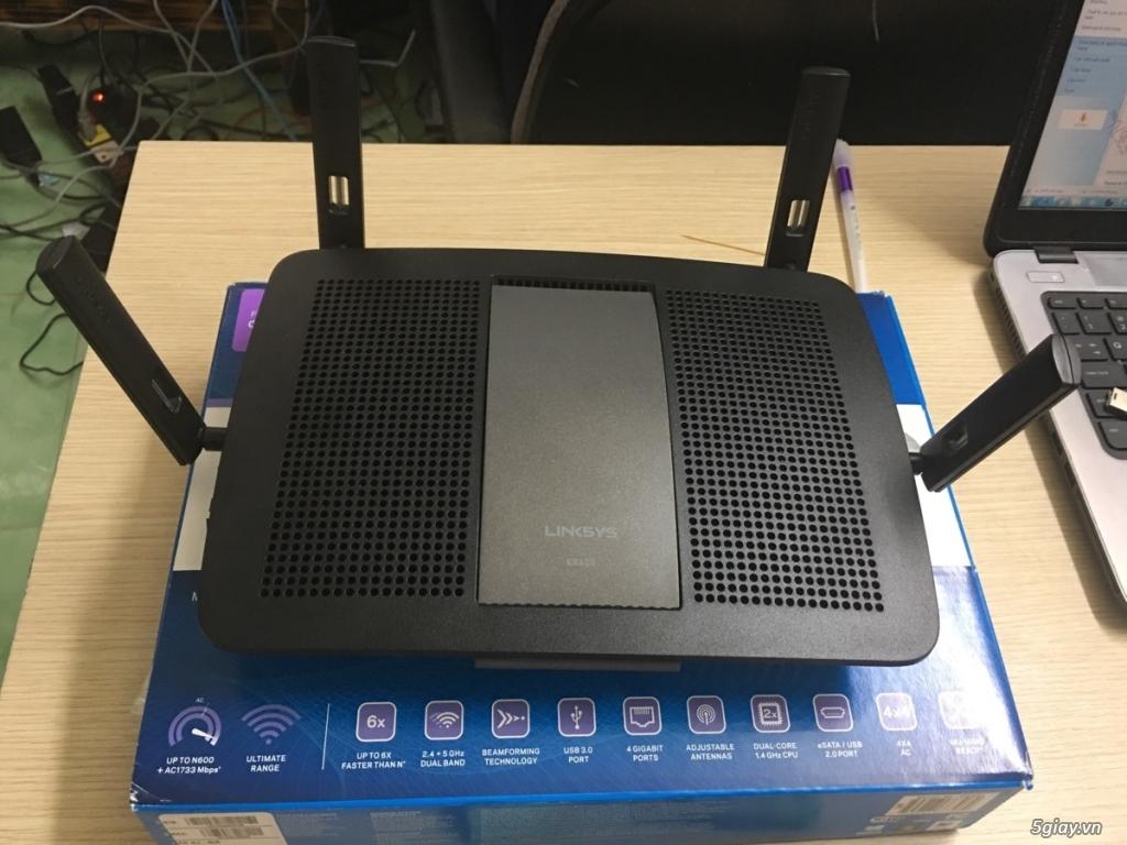 Router wifi Linksys EA8350 siêu bền fullbox giá cực tốt - 1