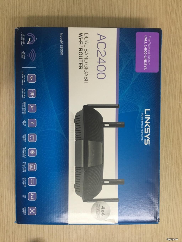 Router wifi Linksys EA8350 siêu bền fullbox giá cực tốt
