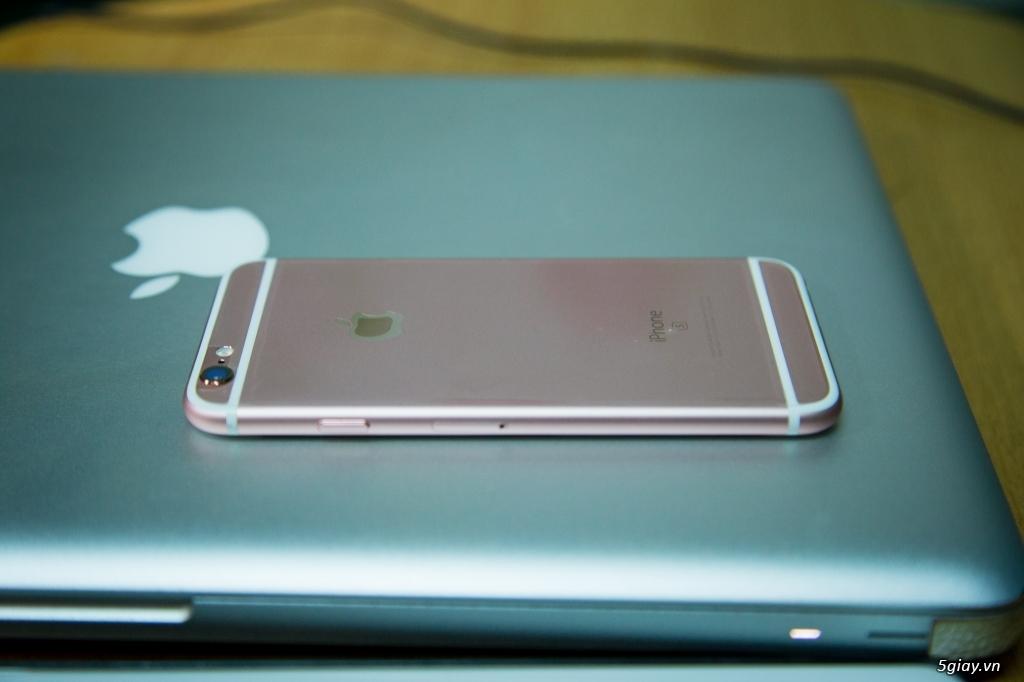 [cần bán]iphone 6s rose gold 64gb - 1