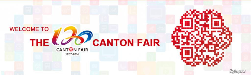 Hội chợ Canton fair 120
