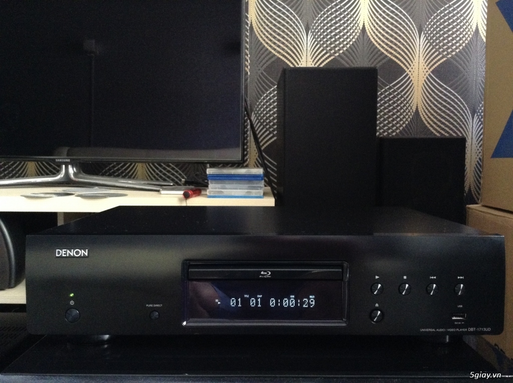 Ampli, CD, receiver, loa, subwoofer, center, surround các loại... - 23