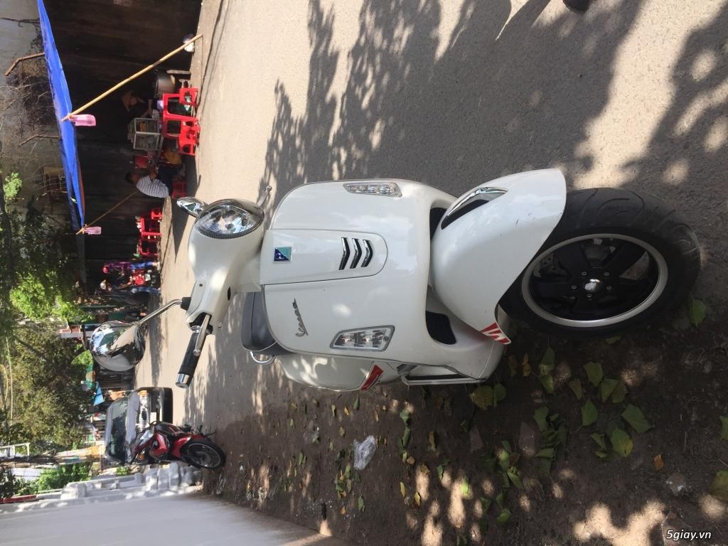 Vespa GTS  trắng 2014 - 3