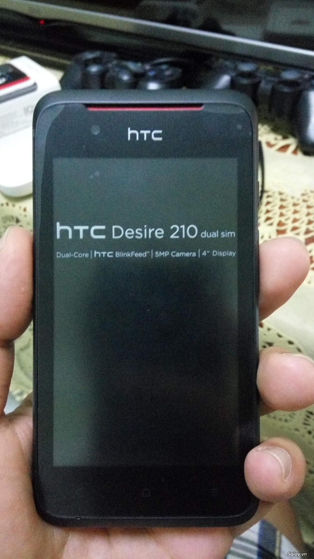 HTC 210 black mới 100% Fullbox bảo hành 12 tháng