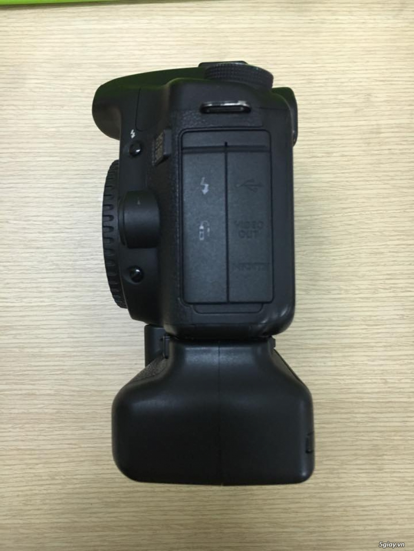 Combo 50D + grip zin + lens yongnuo 35mm f2 - 3