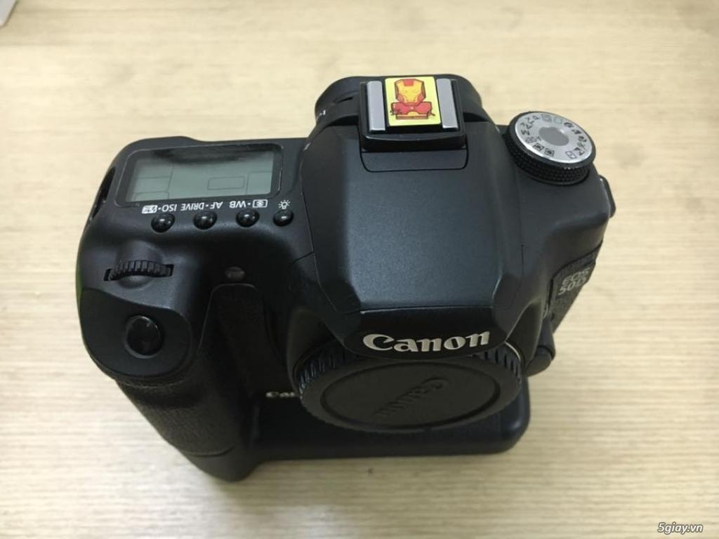 Combo 50D + grip zin + lens yongnuo 35mm f2