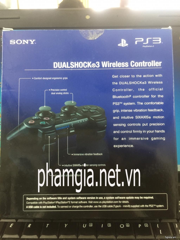 Bán Tay cầm PS3 Fake loại 1 new 100% giá rẻ - 1