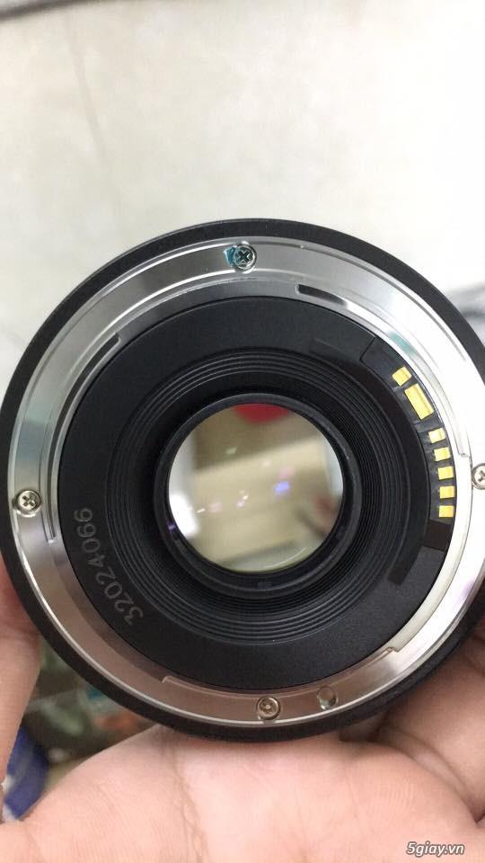 Combo 50D + grip zin + lens yongnuo 35mm f2 - 4