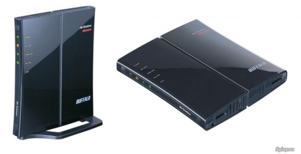 Wifi, NAS và các thiết bị ngoại vi của BUFFALO Nhật Bản - 11