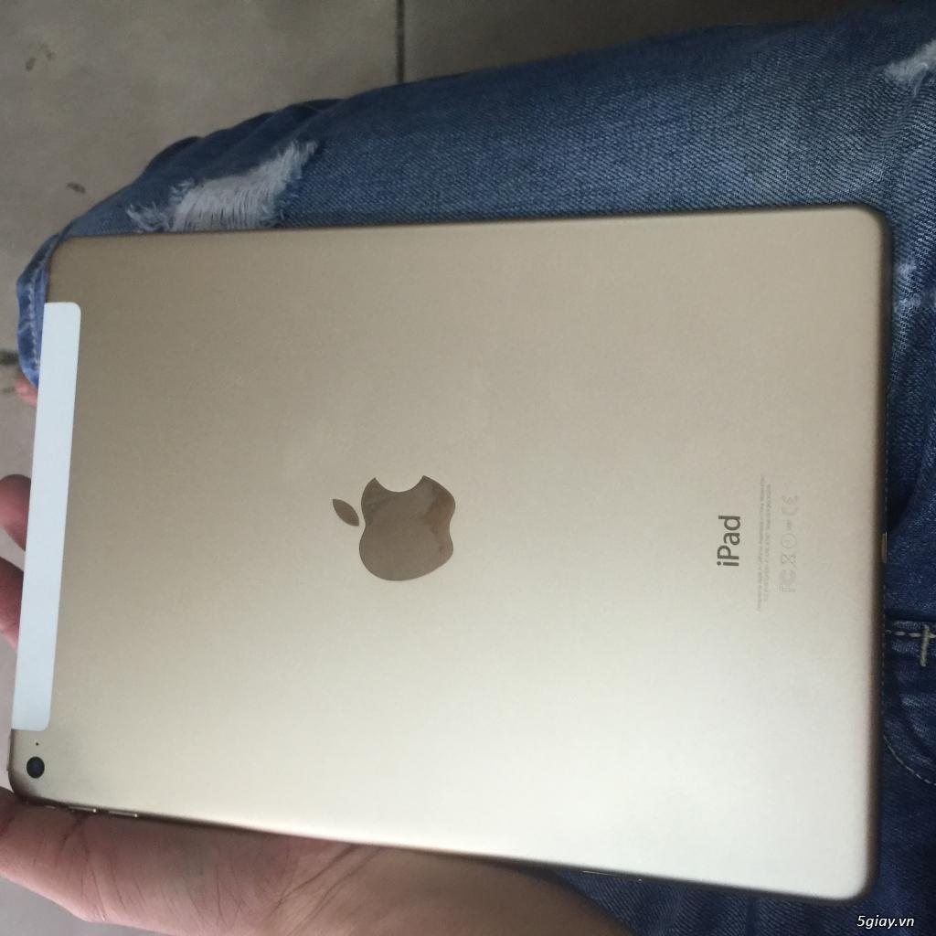 cần bán IPad Air 2 4G 64G màu gold máy dính icloud nên bán xác giá rẻ-mới 99,99% - 2
