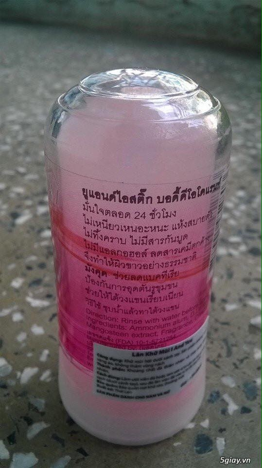 Lăn khử mùi Đá khoáng Thái Lan - 7