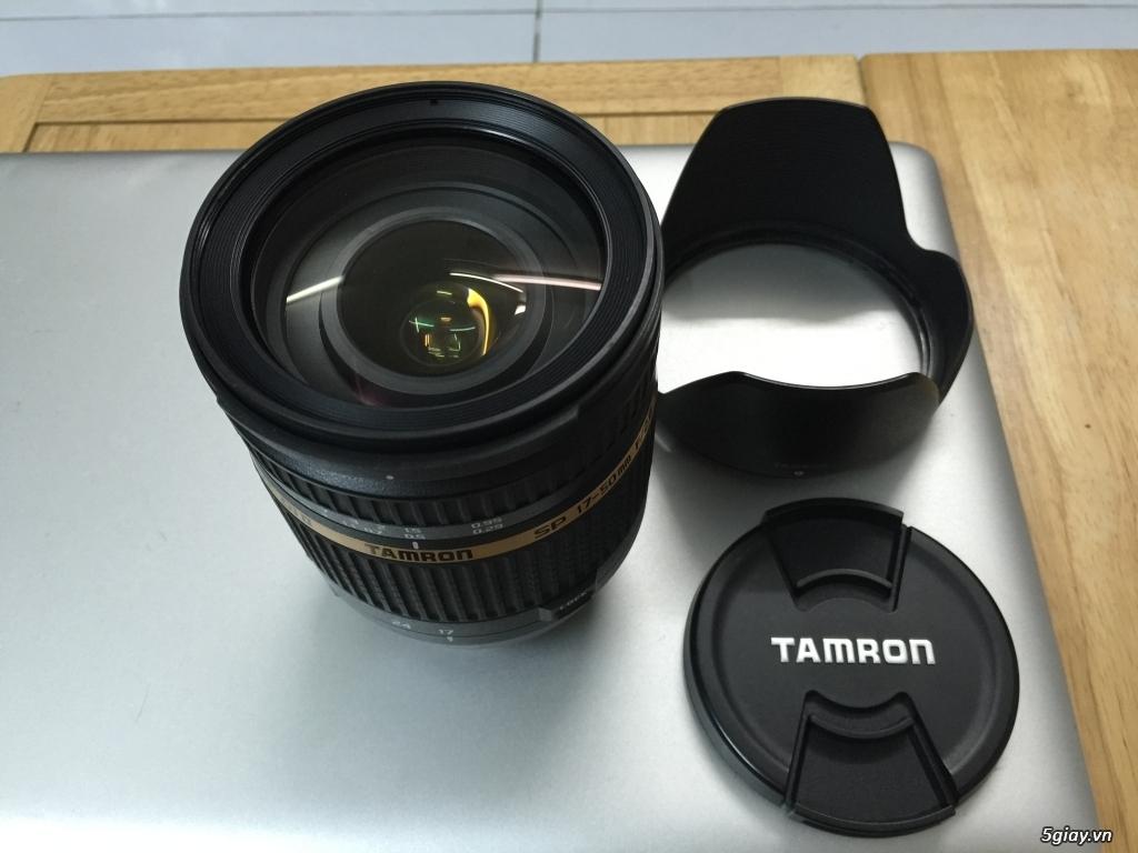 Cần bán canon 7D, Lens Tamron 17-50 F2.8 non VC, tặng chân máy