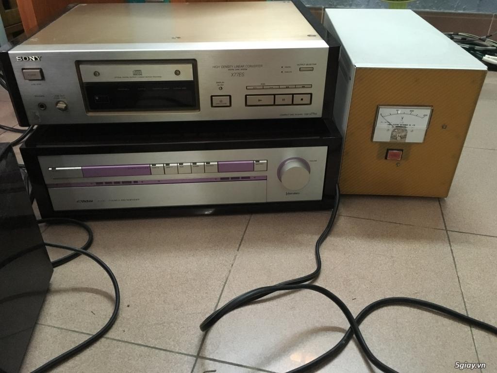 Thanh lý loa tannoy, pre pow victor, cdp Sony - 1