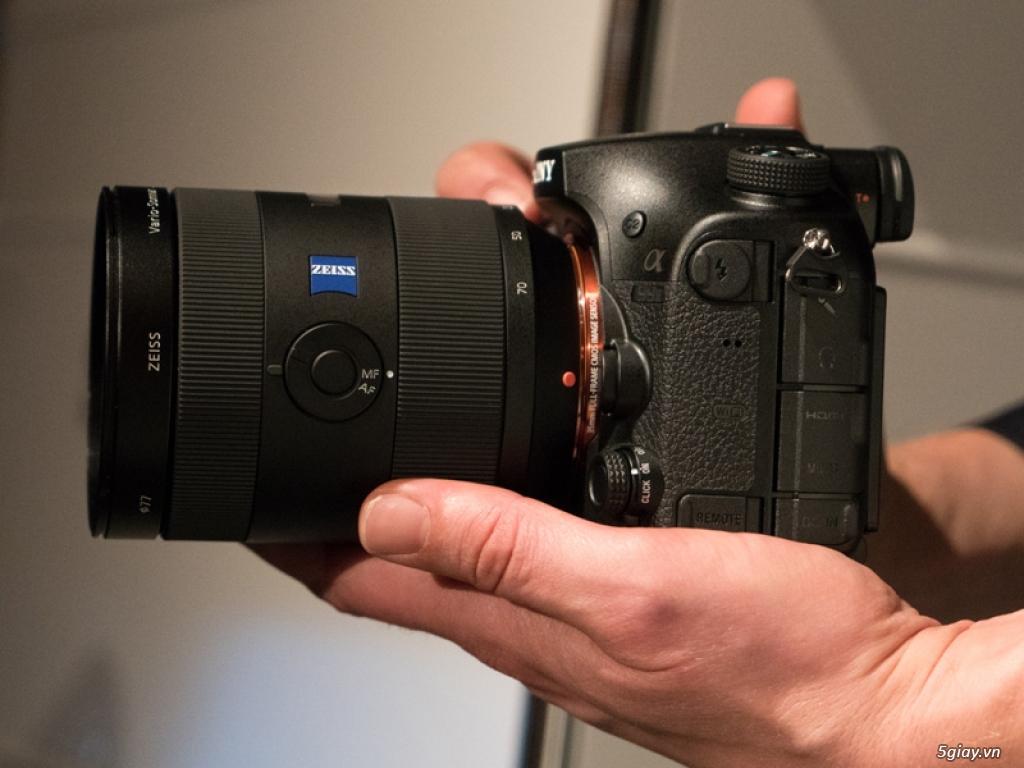 """Sony ra mắt máy ảnh DLSR 42 """"chấm"""" - 145332"""