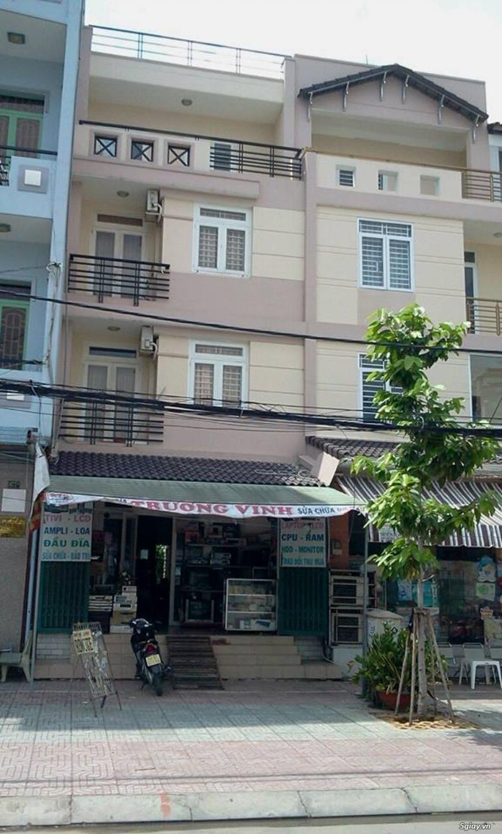 Cho thuê nhà nguyên căn mặt tiền 3 lầu 1 trệt Tạ Quang Bửu quận 8 - 4