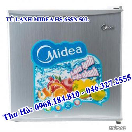 BÁN Tủ lạnh mini, Tủ Lạnh MIDEA HS-65SN 50L giá BÁN BUÔN, BÁN LẺ tốt nhất!. - 1