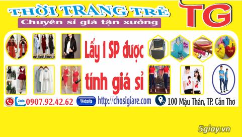 TG shop: Chuyên phân phân phối sỉ Quần áo, Phụ kiện giá tốt, chất lượng Cần Thơ