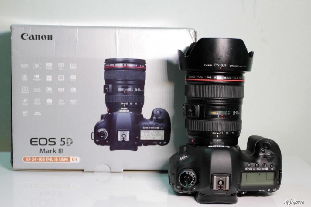 5D3 - 85 1.2 II - 16-35 II - 70-200 2.8 is II UB UC 99% cần bán - 2