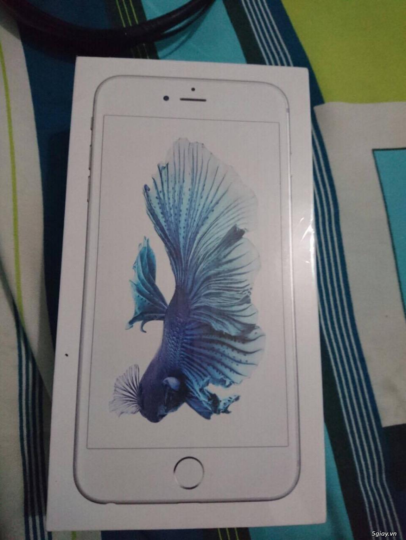 Cần bán iphone 6s plus 128Gb màu silver full box mới 100% chưa active