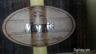 Acpoustic guitar Morris và Yamaha sản xuất tại Nhật - 16