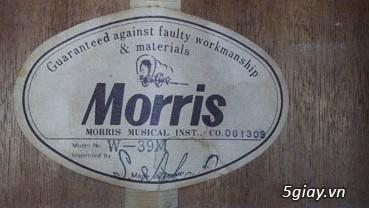 Acpoustic guitar Morris và Yamaha sản xuất tại Nhật - 23