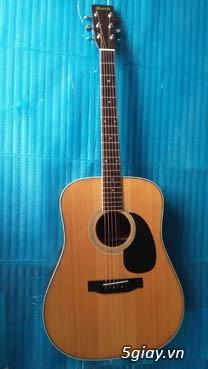 Acpoustic guitar Morris và Yamaha sản xuất tại Nhật - 28