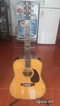 Acpoustic guitar Morris và Yamaha sản xuất tại Nhật - 22